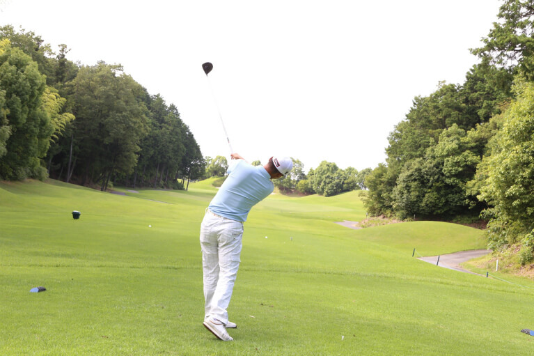 ゴルフをされている方に多いケガ