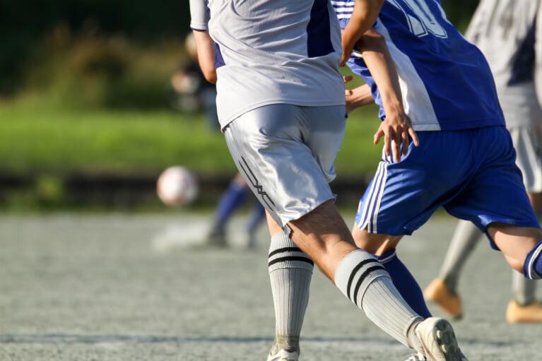 サッカーをされている方に多いケガ